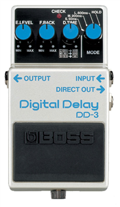 Pédale Boss Digital Delay DD-3