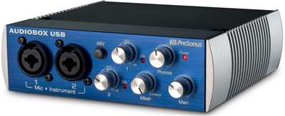 Carte Son Presonus Audiobox USB