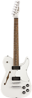 Fender Jim Adkins JA-90 Telecaster® Thinline, Laurel Fingerboard, White