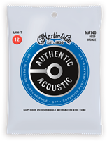 Cordes Acoustiques Martin Authentic, Light, 80/20
