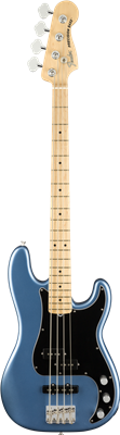 Fender American Performer Precision Bass®, Maple Fingerboard, Satin Lake Placid