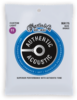 Cordes Acoustiques Martin Authentic, Custom Light, 80/20