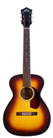 GUILD M-40E Troubadour ATB Antique Burst Electro avec etui (Série Traditional US