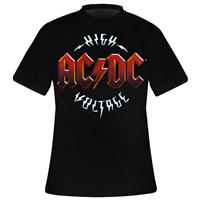 T-Shirt Homme ACDC High Voltage Vintage Taille L