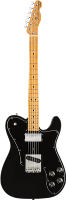 Fender Vintera® '70s Telecaster® Custom, Maple Fingerboard, Black
