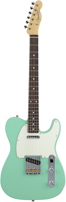Guitare Electrique Fender Japon - Telecaster Hybrid 60 Custom Rosewood Surfgreen