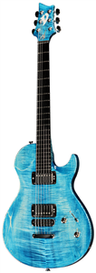 Guitare Electrique Vigier G.V. Wood StoneWash Blue