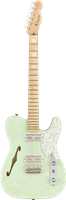 Fender Parallel Universe II Tele® Mágico, Maple Fingerboard, Transparent Surf Gr