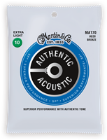 Cordes Acoustiques Martin Authentic, Extra Light, 80/20