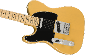 Fender Player Telecaster® Left-Handed, Maple Fingerboard, Butterscotch Blonde