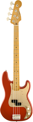 BASSE Fender '50s Precision Bass®, Maple Fingerboard, Fiesta Red
