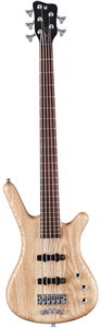 Basses - 5 cordes Warwick Corvette Ash 5 cordes Active - Natural