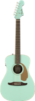 Fender Malibu Player, Walnut Fingerboard, Aqua Splash