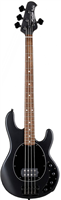 Basse Sterling by Musicman Stingray 4 Active - Noire Mat