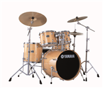 "Batterie Acoustique Yamaha Stage Custom Birch 22"" Natural Wood"