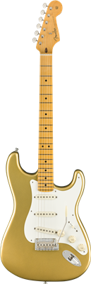 Fender Lincoln Brewster Stratocaster®, Maple Fingerboard, Aztec Gold
