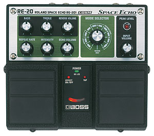 Pédale Twin Boss Space Echo RE-20