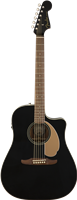 Fender Redondo Player, Walnut Fingerboard, Jetty Black