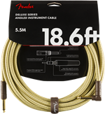 Cables Fender DELUXE 18.6' ANGL INST TWD Tweed