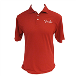 Polo Spaghetti Logo red L