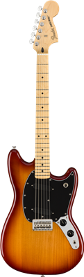 Fender Player Mustang®, Maple Fingerboard, Sienna Sunburst