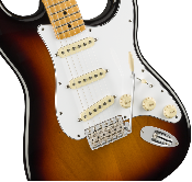 Fender Jimi Hendrix Stratocaster®, Maple Fingerboard, 3-Color Sunburst