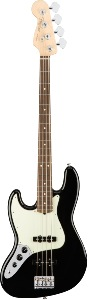 Fender American Pro Jazz Bass® Left-Hand, Rosewood Fingerboard, Black