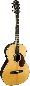 Guitare E/A Fender Paramount PM2 Deluxe Parlor Naturelle