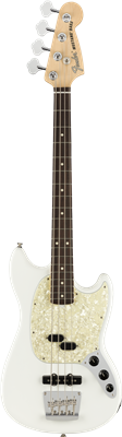 Fender American Performer Mustang Bass®, Rosewood Fingerboard, Arctic White