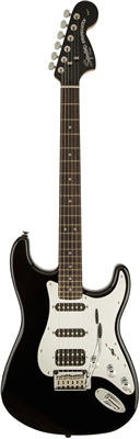 Guitare Electrique Squier by Fender Stratocaster Black and Chrome