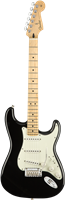 Guitare Electrique Fender Player Stratocaster Erable, Black