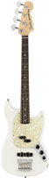 Basse Fender American Performer Mustang Bass®, Rosewood Fingerboard, Arctic Whit