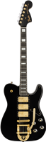 Fender Parallel Universe Volume II Troublemaker Tele® Deluxe with Bigsby®, Ebony