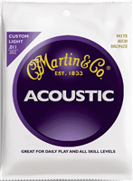 Cordes Acoustique Martin Bronze 80/20 Custom Light
