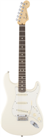 Guitare Electrique Fender Stratocaster American Standard Olympic White Palissand