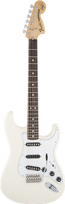 Fender Ritchie Blackmore Stratocaster®, Scalloped Rosewood Fingerboard, Olympic
