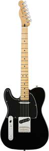 Guitare Electrique Fender Player Telecaster Gaucher Erable, Black