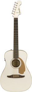 Guitare E/A Fender California Series Malibu Player, Arctic Gold