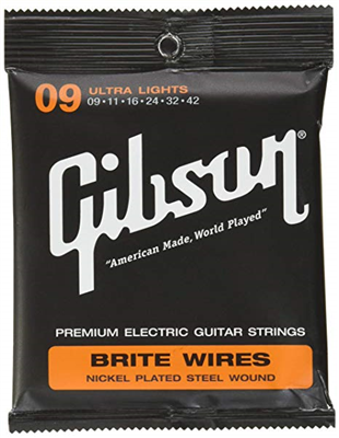 Cordes Gibson Brite Wire Electric (Ultra Lights) 9-42