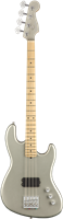 Fender Flea Signature Active Jazz Bass®, Maple Fingerboard, Satin Inca Silver