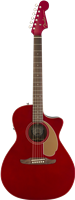 Fender Newporter Player, Walnut Fingerboard, Candy Apple Red