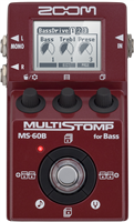 Pédale Zoom MultiStomp MS-60 pour basse