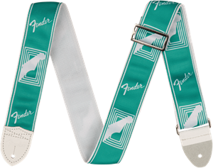 "2"" Monogrammed Strap, Sea Foam Green"