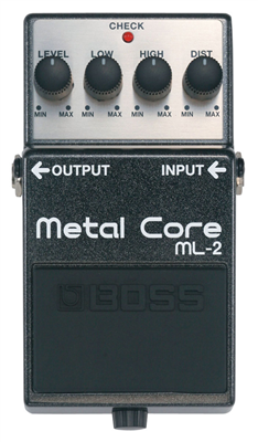 Pédale Boss Metal Core ML-2