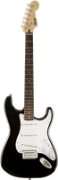 Guitare Electrique Squier Bullet® Strat® with Tremolo, Laurel Fingerboard, Black