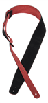 Sangle de Guitare Constant Bourgeois Dysprosia Black/Red