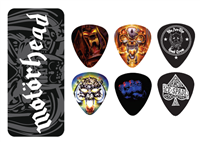 Mediators Collector Dunlop Boîte de 6, Motörhead, Medium