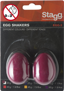 Oeufs sonores Stagg rouges 20g