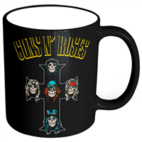 Mug Guns N' Roses Was Here Thermosensible