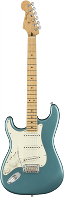 Guitare Electrique Fender Player Stratocaster Gaucher Erable, Tidepool